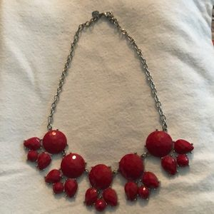 Charming Charlie Jewelry - Red statement necklace